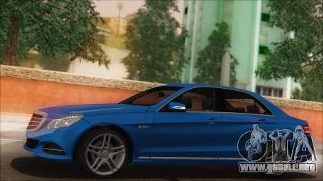 Mercedes-Benz E63 AMG 2014 para GTA San Andreas interior
