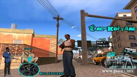 C-HUD Aztecaz by HARDy para GTA San Andreas