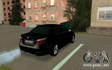 BMW 530xd para la visión correcta GTA San Andreas