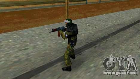 Soldado de las fuerzas especiales para GTA Vice City segunda pantalla