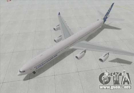 El Airbus A340-600 para GTA San Andreas left