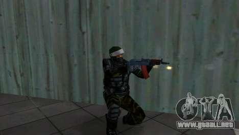Luchador Alfa Antiterror para GTA Vice City segunda pantalla