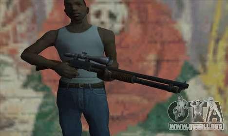 Shotgun Model 12 para GTA San Andreas tercera pantalla