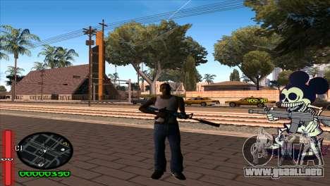 C-Hud Mickey para GTA San Andreas