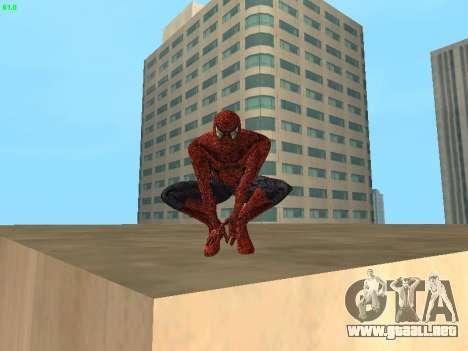 Hombre araña para GTA San Andreas