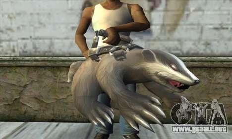 Motosierra de Postal 3 para GTA San Andreas tercera pantalla