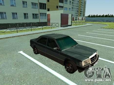 Mercedes-Benz E500 para GTA San Andreas left