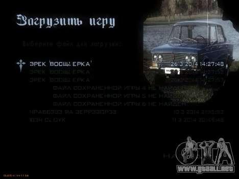 Menú de coches Soviéticos para GTA San Andreas quinta pantalla