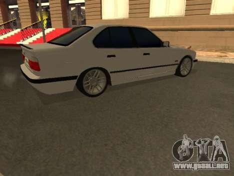 BMW 525 Smotra para visión interna GTA San Andreas
