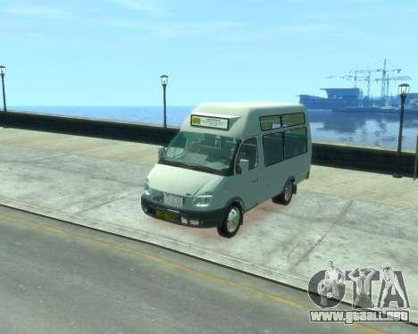 Gacela de la SST Ruth-16 para GTA 4