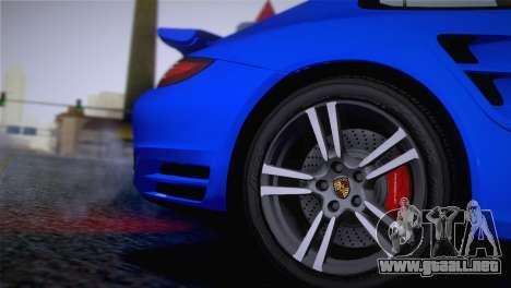 Porsche 911 Turbo Bi-Color para la visión correcta GTA San Andreas
