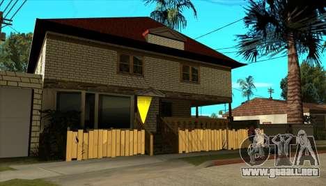 Moderna casa de Sijia v1.0 para GTA San Andreas tercera pantalla