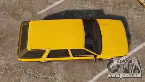Renault 21 Nevada GTD para GTA 4 visión correcta