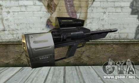 P-Laser Sniper Rifle para GTA San Andreas segunda pantalla