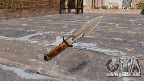Cuchillo de Crysis 2 para GTA 4