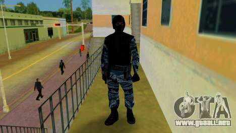 OMON Fighter para GTA Vice City sucesivamente de pantalla