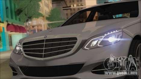 Mercedes-Benz E63 AMG 2014 para visión interna GTA San Andreas
