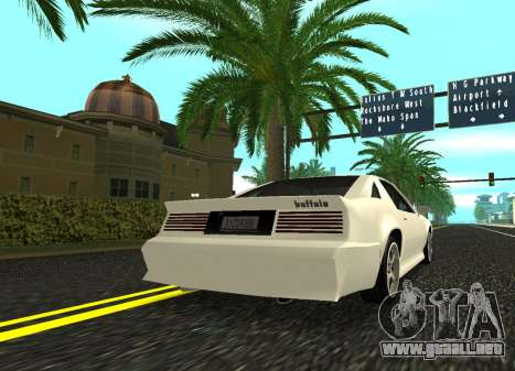 Buffalo HD para GTA San Andreas left