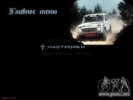 Menú de coches Soviéticos para GTA San Andreas