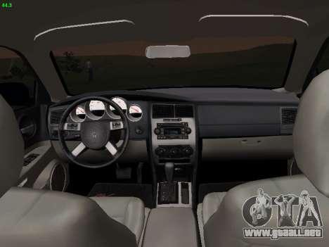 Dodge Charger RT 2008 para GTA San Andreas vista posterior izquierda