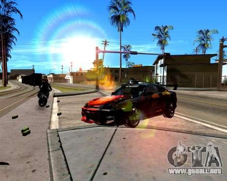 ENB para PC débil para GTA San Andreas segunda pantalla