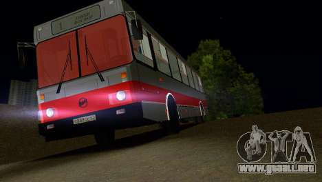 LIAZ-5256 para GTA Vice City interior