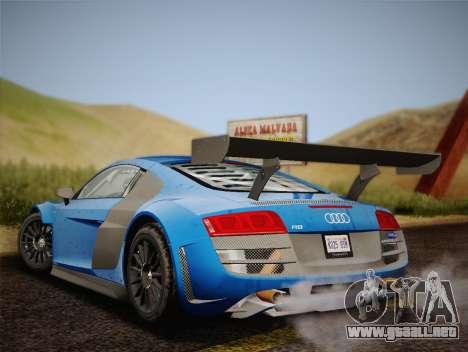 Audi R8 LMS v2.0.4 DR para la visión correcta GTA San Andreas