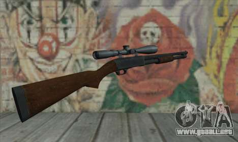 Shotgun Model 12 para GTA San Andreas segunda pantalla