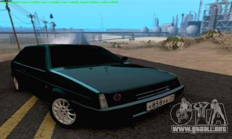 VAZ 2108 Tula para GTA San Andreas vista hacia atrás