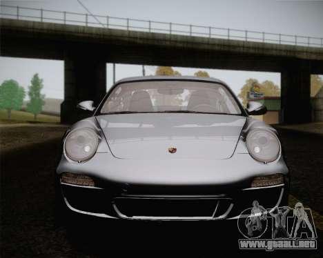 Porsche 911 Carrera para la vista superior GTA San Andreas
