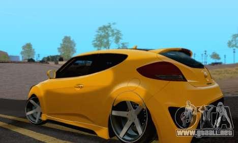 Hyundai Veloster para GTA San Andreas left