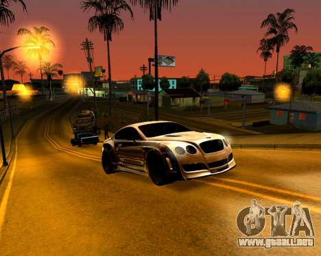 ENB para PC débil para GTA San Andreas tercera pantalla