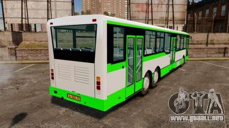 Volzhanin-6270.10 para GTA 4 Vista posterior izquierda
