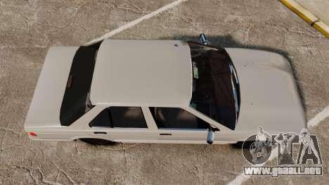 Nissan Tsuru para GTA 4 visión correcta