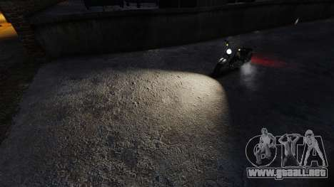 Muy blanca luz para GTA 4 segundos de pantalla