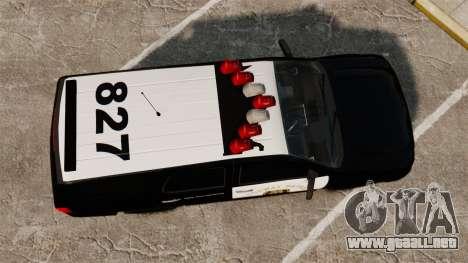Chevrolet Tahoe 2007 LCHP [ELS] para GTA 4 visión correcta