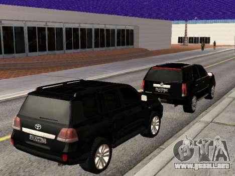 Cadillac Escalade 2010 para visión interna GTA San Andreas