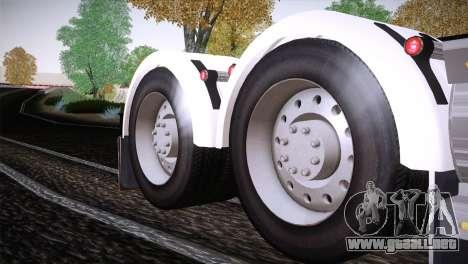 Freightliner Argosy 8x4 para visión interna GTA San Andreas