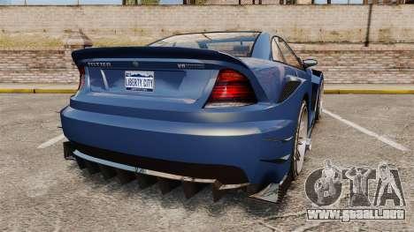 GTA V Feltzer para GTA 4 Vista posterior izquierda