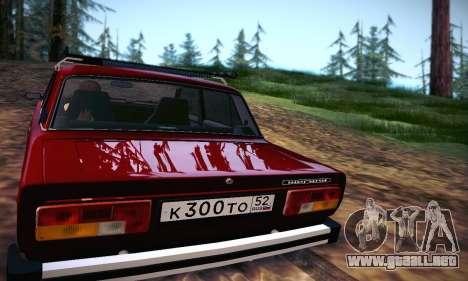 Vaz 21053 para la visión correcta GTA San Andreas