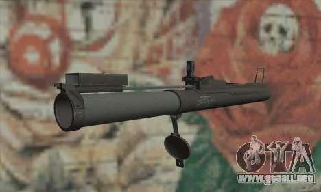 M72 LAW para GTA San Andreas