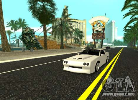Buffalo HD para GTA San Andreas