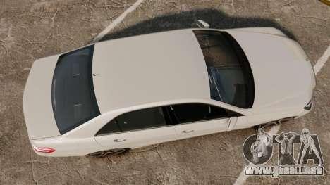 Mercedes-Benz E63 AMG 2014 v2.0 para GTA 4 visión correcta