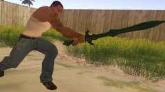 Vidrio espada de Skyrim para GTA San Andreas
