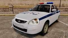 VAZ-2170 de Policía para GTA 4