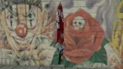 Large bloody knife para GTA San Andreas