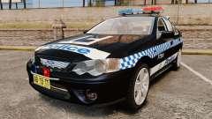 Ford BF Falcon XR6 Turbo Police [ELS] para GTA 4