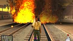 C-HUD Crime Ghetto para GTA San Andreas