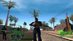 C-HUD Groove by HARDy para GTA San Andreas