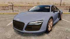 Audi R8 V10 plus Coupe 2014 [EPM] para GTA 4